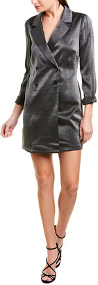 BCBGeneration Cocktail Boyfriend Tuxedo Jacket Dress