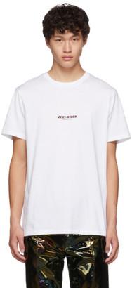Neil Barrett White Zeus-Rider T-Shirt
