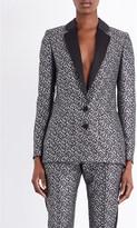 Racil Tuxedo metallic-jacquard jacket