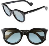 Moncler Women's 51Mm Sunglasses - Blonde Havana / Gradient Smoke
