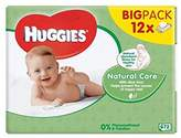 Huggies Natural Care Baby Wipes 12 x 56 per pack - Pack of 2