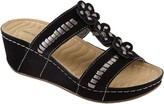 David Tate Wave Tech Comfort Wedge Sandals - Myrna
