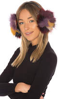 Hat Attack Luxe Earmuff With Fox Fur