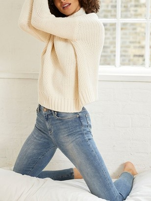 Mint Velvet Chunky Knit Funnel Neck Jumper