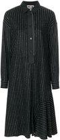 Hache striped shirt dress