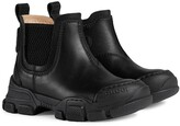 Thumbnail for your product : Gucci Children Logo Patch Ankle Boots