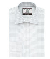 Thomas Pink Joaquin Check Classic Fit Button Cuff Shirt