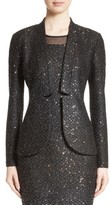St. John Women's Pranay Sequin Knit Jacket