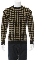 Balmain Metallic Diamond Pattern Sweater w/ Tags