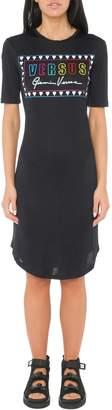 Versace Printed Slim Fit Dress