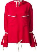 N Duo pocket detail hoodie
