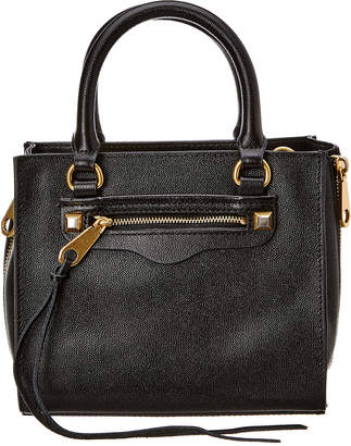 Rebecca Minkoff Mini Regan Side Zip Leather Tote