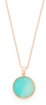 Bronzallure Alba Disc Pendant Necklace