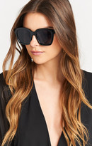 MUMU Perverse Sunglasses ~ Ace ~ Shiny Jet Black Frames and Black Lenses