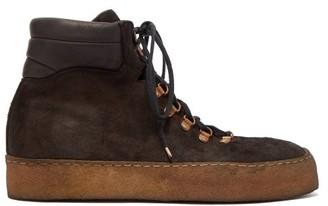 Guidi Snowbordista Lace-up Leather Boots - Black
