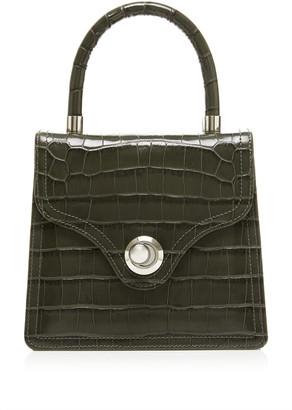 Ratio et Motus Lady Croc-Effect Leather Top Handle Bag