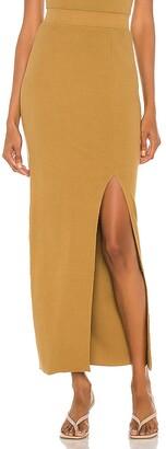 NSF Arizia Slit Maxi Skirt