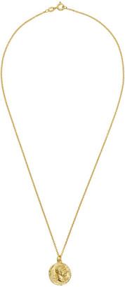 Dear Letterman Gold Asad Pendant Necklace