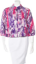 Piazza Sempione Printed Woven Jacket w/ Tags