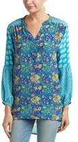 Tolani Monisha Silk Top.