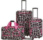 Rockland 3 Piece Luggage Set F165