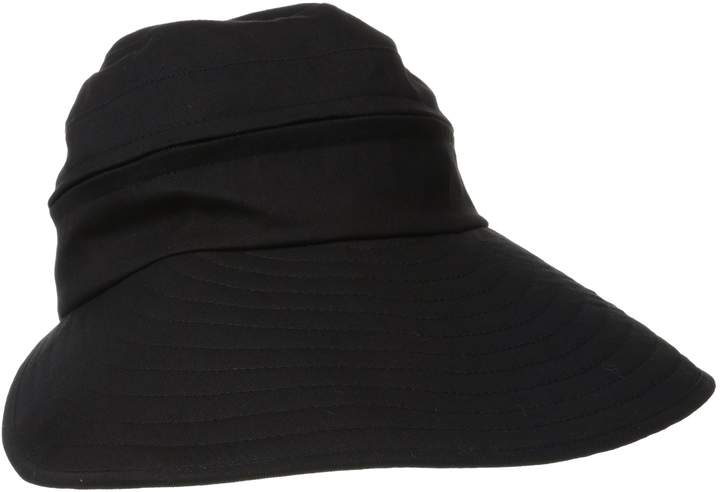 Physician Endorsed Women's Naples Cotton Packable Cap & Visor Sun Hat Rated UPF 50+ for Max Sun Protection