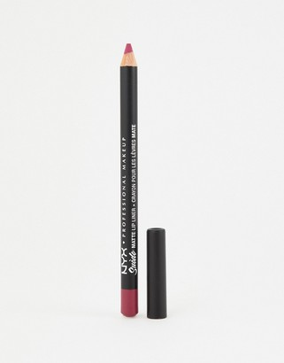 NYX Suede Matte Lip Liners - Sweet Tooth