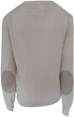Maison Margiela Ecru Cotton Knitwear & Sweatshirts