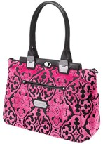 Petunia Pickle Bottom Infant Girl's 'Cafe Carryall - Spring 2015' Diaper Bag - Black