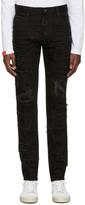 DSQUARED2 Black Slash Cool Guy Jeans