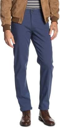 "Brax Cooper Sensation Micro Design Regular Fit Chino Pants - 34"" Inseam"