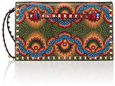 "Valentino Women's Rockstud ""Enchanted Wonderland"" Flap Clutch-RED, GREEN"