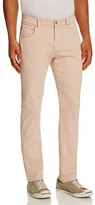 7 For All Mankind Luxe Performance Sateen New Tapered Fit Jeans in Light Pink
