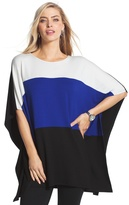 Chico's Dominique Colorblock Tunic