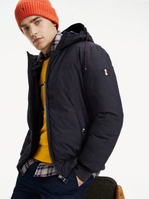 Tommy Hilfiger Structured Hooded Bomber