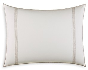 Vera Wang Pucker Grid Sides Stitching Breakfast Pillow, 15 x 20