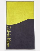 Calvin Klein Core Color Block Towel