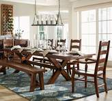 Pottery Barn Toscana Extending Dining Table, Alfresco Brown