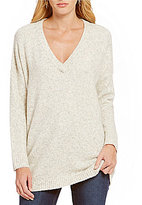 French Connection Weekend Flossie V-Neck Chunky Sweater