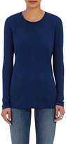 Barneys New York WOMEN'S CREWNECK LONG-SLEEVE T-SHIRT