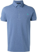 Etro embroidered logo polo shirt - men - Cotton - S
