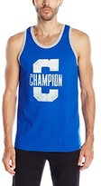 Champion Men's Jersey Ringer Tank