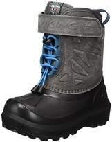 Viking Unisex Kids' Nordlys Suede Snow Boots Grey Size: 2.5UK Child