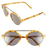 Illesteva Women's 'Milan Iii' 54Mm Sunglasses - Amber