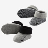 Nike Marled Knit Infant Booties (2 Pack)
