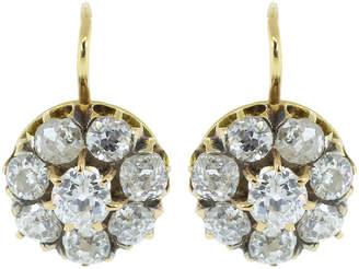 Todd Reed Renee Lewis Rose Cut Diamond Earrings