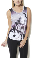Arden B Sublimated Wolf Screen Tank