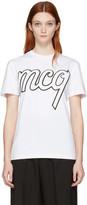 McQ by Alexander McQueen White Classic Logo T-shirt