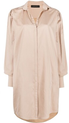 FEDERICA TOSI Silk-Cotton Shirt Dress