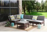 Baner Garden Complete Patio Garden 6 Piece Deep Seating Group Set with Cushions
